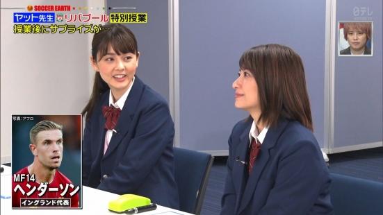 笹崎里菜&佐藤梨那の貴重なJKルック!! (6)
