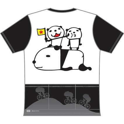 ワールドサイクルTシャツバランス2