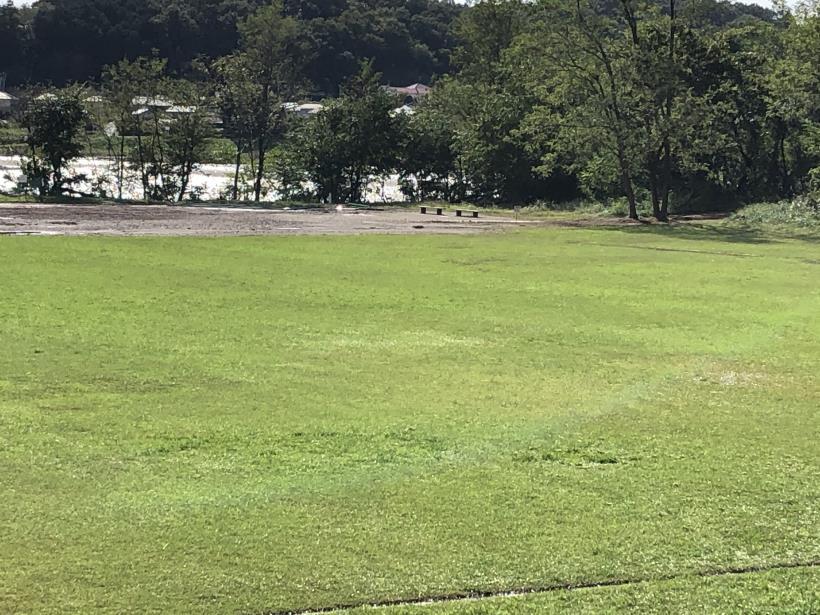 台風19号の後の多摩サイ25