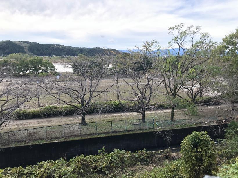 台風19号の後の多摩サイ31