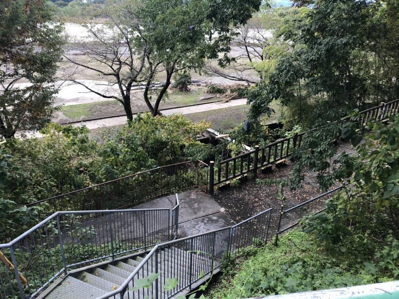 台風19号の後の多摩サイ32