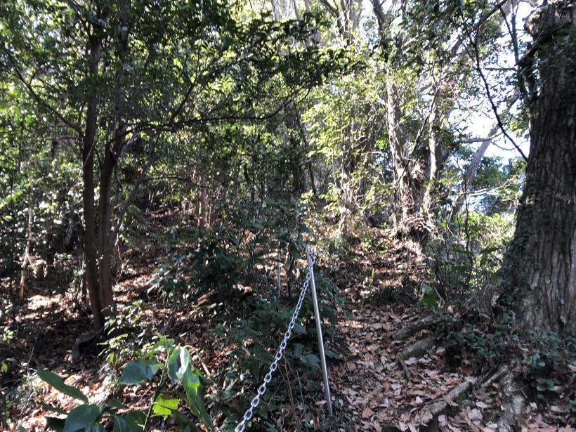 城山登山口から鷹射場29