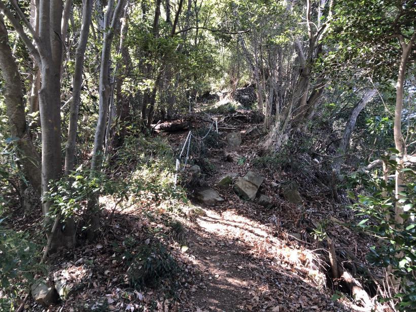 城山登山口から鷹射場34