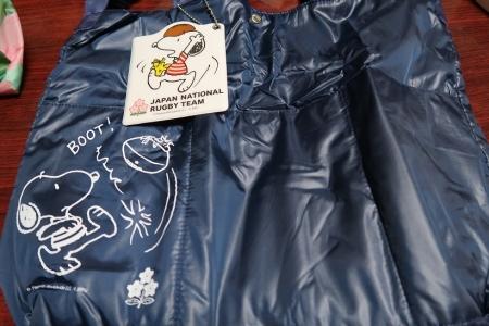 スヌーピーラグビー日本代表コラボバッグ