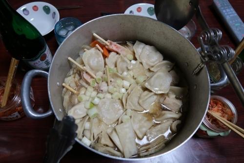 水餃子の鍋
