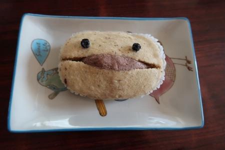 カントリーマアム蒸しパン