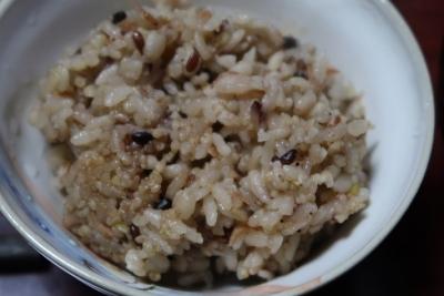 塩海老の炊き込みご飯