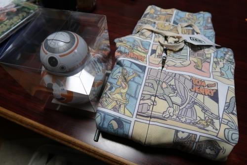 BB-8とパーカー