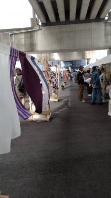 織物イベント