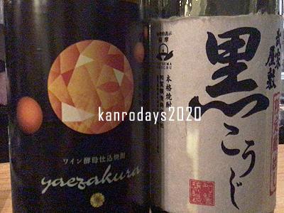 20200307_yaezakuraと武家屋敷黒こうじ