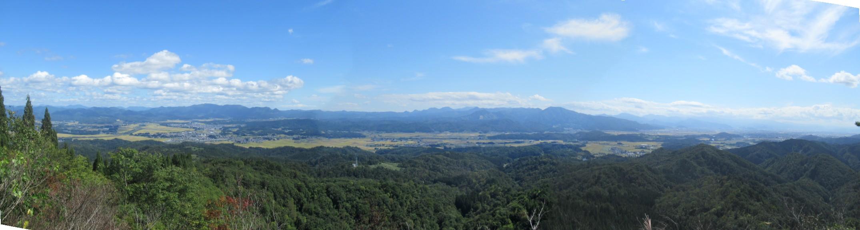大高根山頂からの展望
