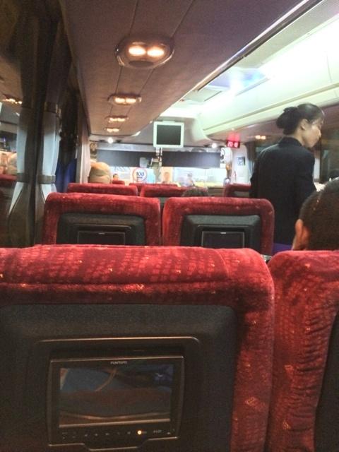 バガンからヤンゴンへのバス