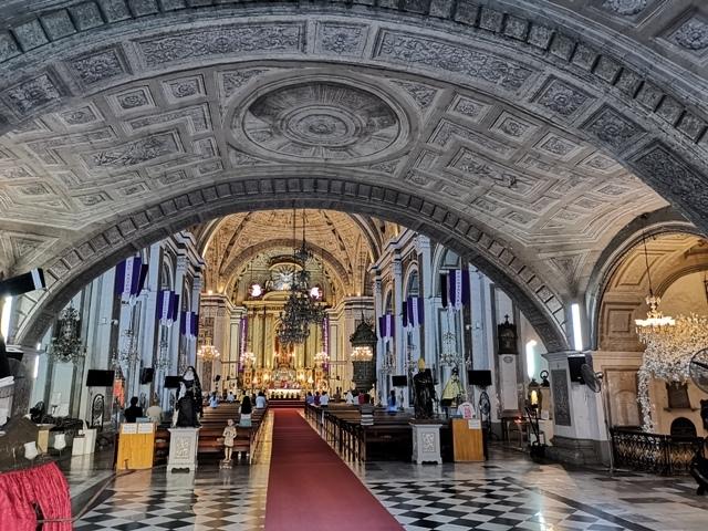 サン・アグスティン教会の内部