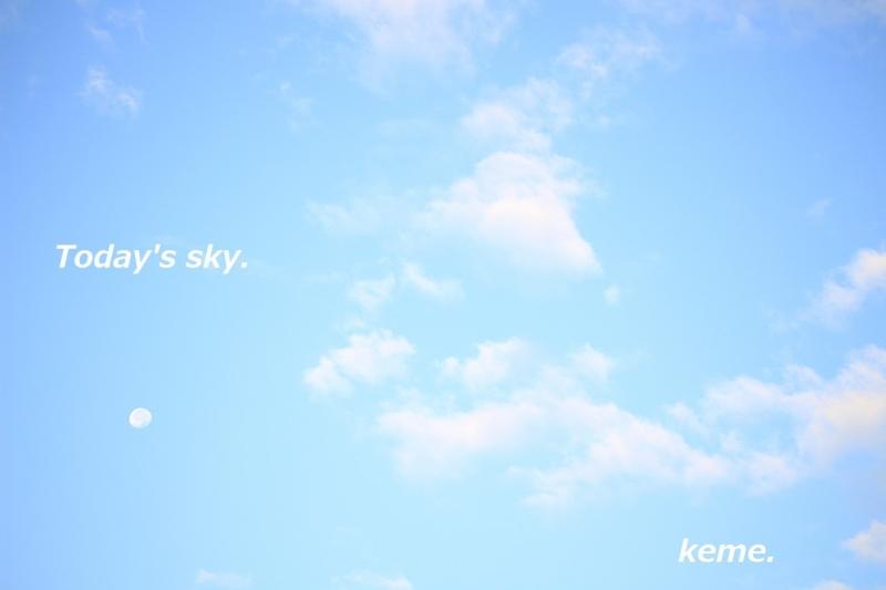 1017朝の空