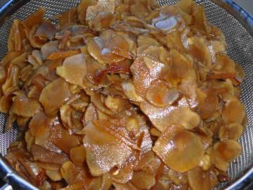 菊芋の醤油漬け7l