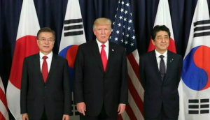 [韓国の反応]日米韓の北朝鮮問題担当が協議 非核化を確認「日本がどうして挟まっているんだ?やはりGSOMIA破棄で困ったから米国に泣きついたんだろうな」