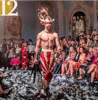 [韓国の反応]英国の有名ファッションスクールが旭日旗を施した衣装をSNSにアップロードして議論に