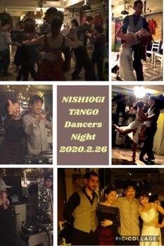 2020_2_26_NISHIOGI TANGO Dancers Night