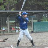 2本の適時二塁打を放った宮崎