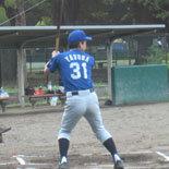 2本の二塁打を放った安田
