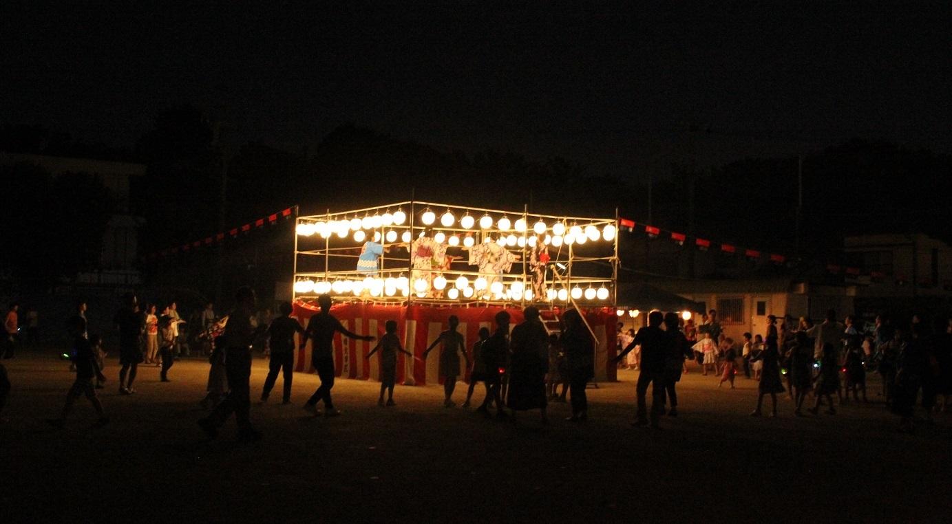 小幡北 盆踊り1