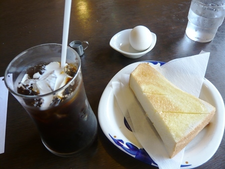 みき:アイスコーヒー・モーニング2