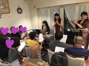 2019年11月22日ボジョレーパーティ江藤ゆう子さんトリオ8a