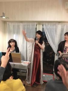 2019年11月22日ボジョレーパーティ江藤ゆう子さんトリオ10