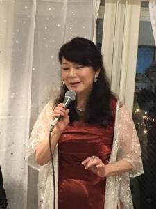 2019年11月22日ボジョレーパーティ江藤ゆう子さんトリオ9