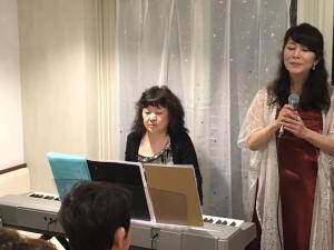2019年11月22日ボジョレーパーティ江藤ゆう子さんトリオ7