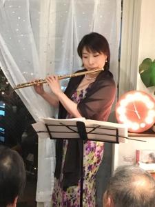 2019年11月22日ボジョレーパーティ江藤ゆう子さんトリオ5