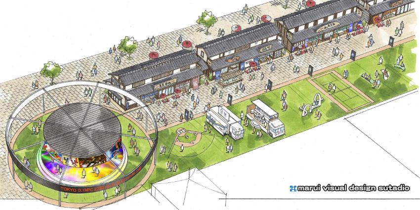 築地跡地計画イメージパース2