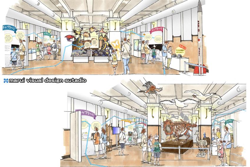 科博企画展(えほん博物館の魅力)イメージパース2