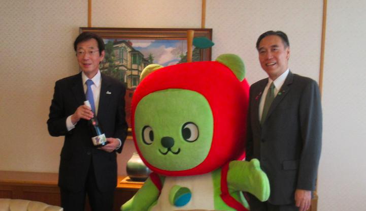 20191105神戸市長と長野知事