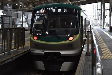 東急多摩川行き蒲田201905