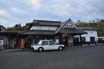 飫肥駅舎201803