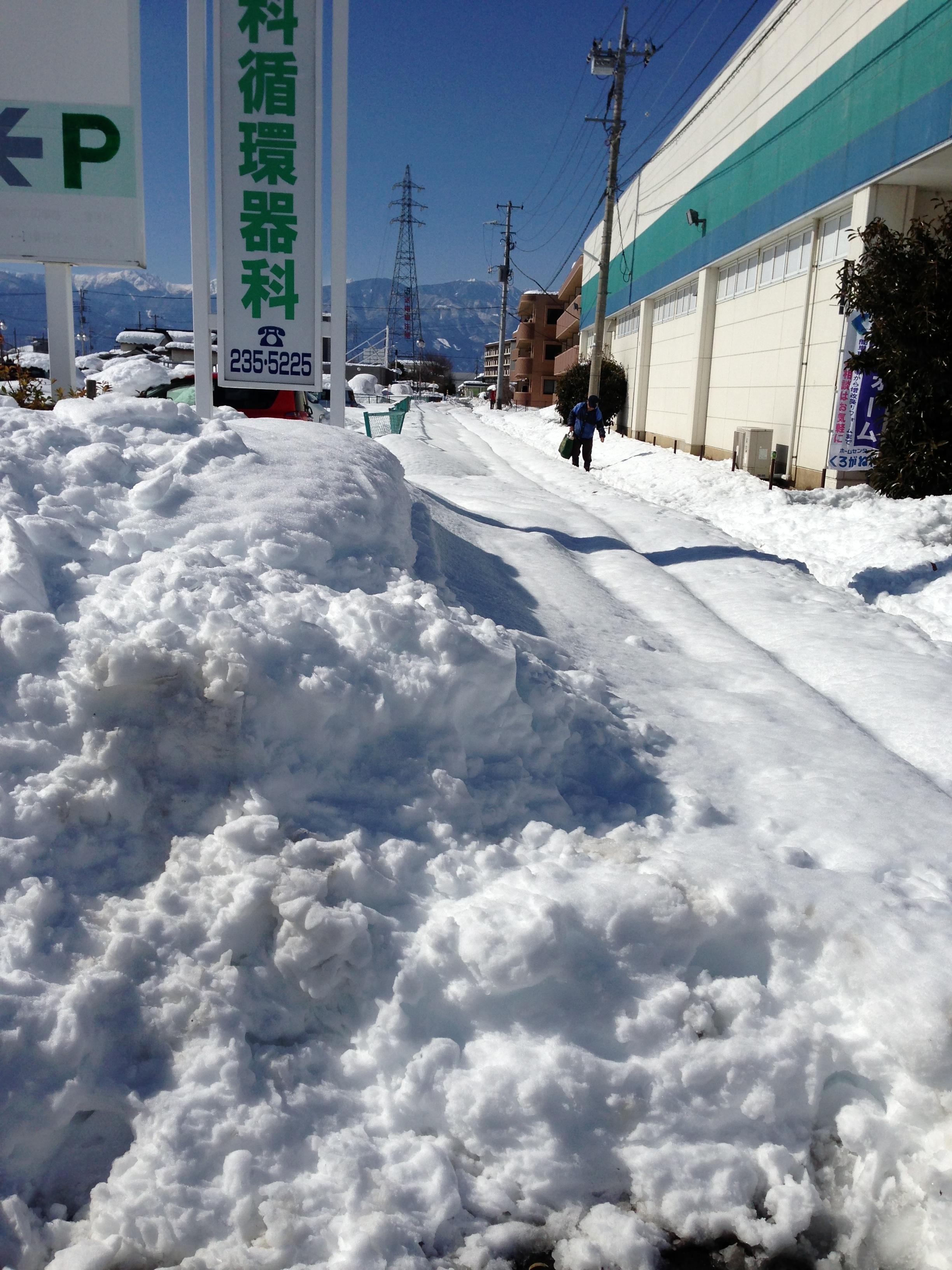 2014年の大雪2