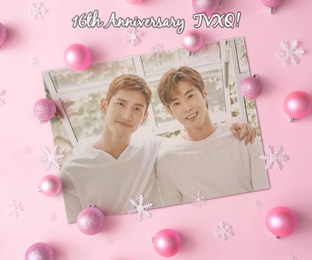 16th anniversary TVXQ !