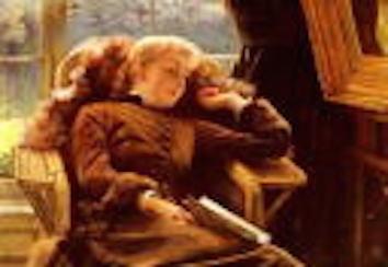 肘掛け椅子のキャスリーン・ニュートン