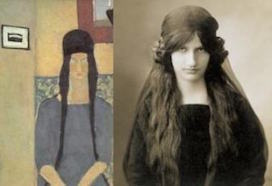 モディリアーニの妻ジャンヌ