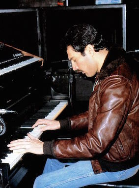 ピアノとシンセ