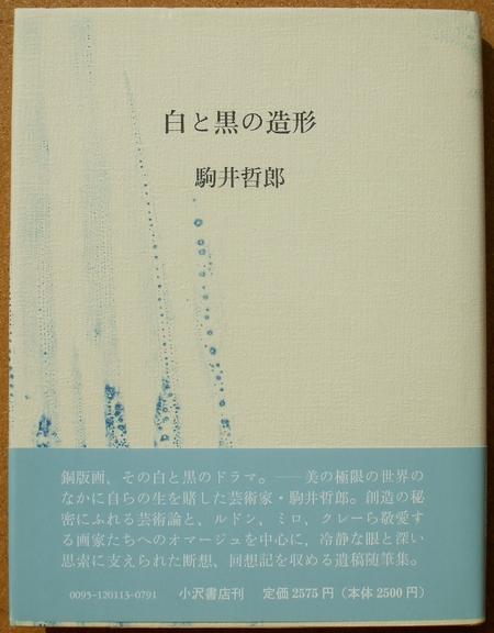 駒井哲郎 白と黒の造形 01