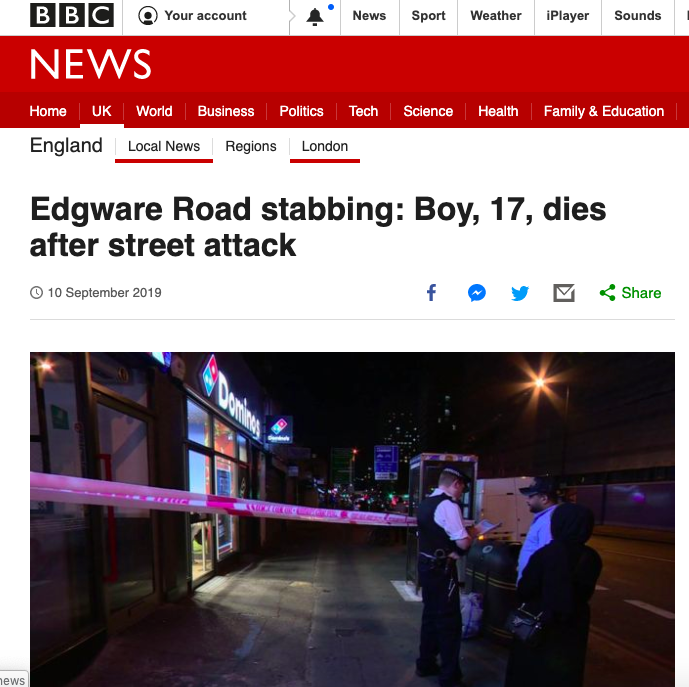 Edgware Road BBC 10Sep2019