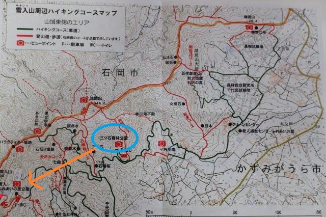 雪入山地図