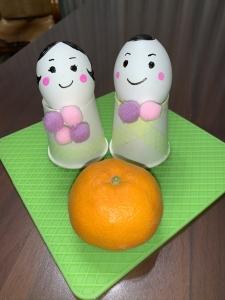 Egg Hina Dolls