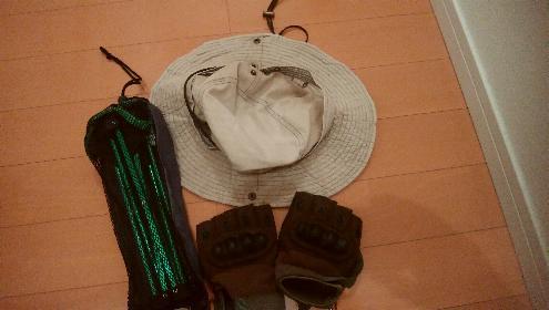 帽子、手袋