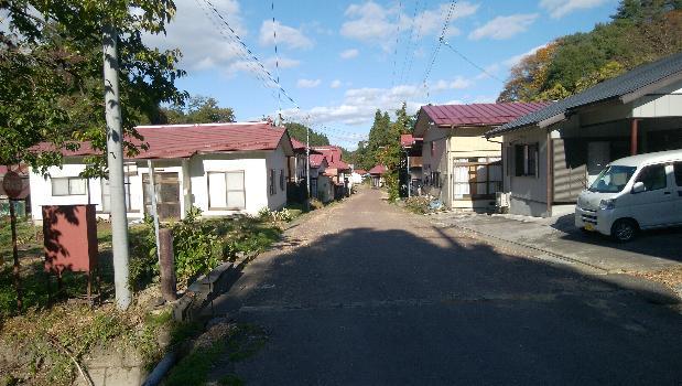 上戸沢宿の秋