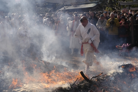 小田原市満福寺の火伏祭