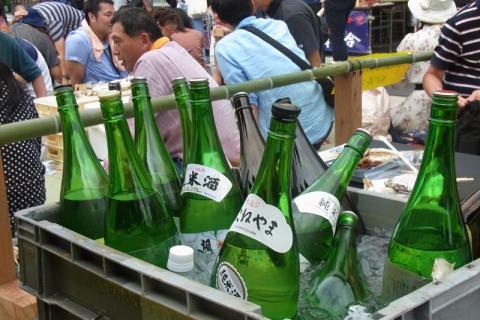 小田原宿場祭り用意された純米酒