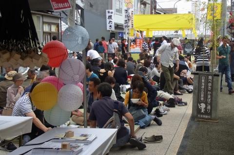 小田原宿場祭り300畳の宴会場